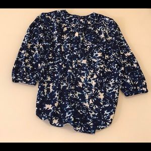 NWOT Not Your Daughters Jeans Blouse Sz Petite Sml